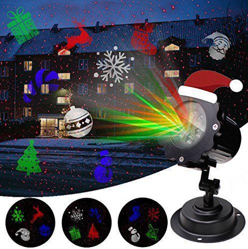 Lampe de projection LED Noël de projection, airlab Éclairage de Noël ...