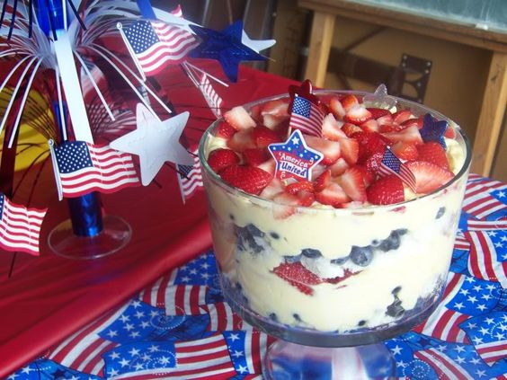 4th of july desserts with cake mix
