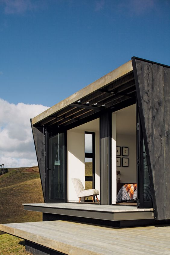 Fairytale vintage lodge in the woods, to modern container home high on a hilltop ...