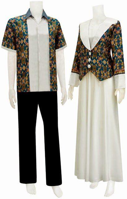 50 Gambar Model Baju Batik Gamis Kombinasi Terbaru Ayeey