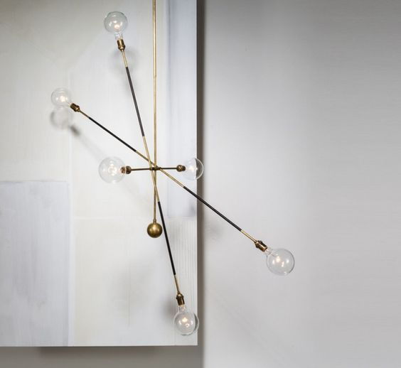 Indretning #belysning #skulpturelt #pendel #industrielt #lys ...