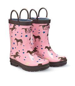 horse & stars rainboots