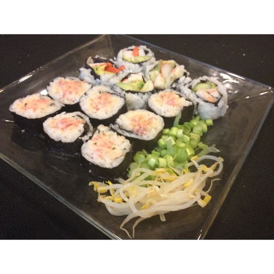 Sushi for my gorgeous wife