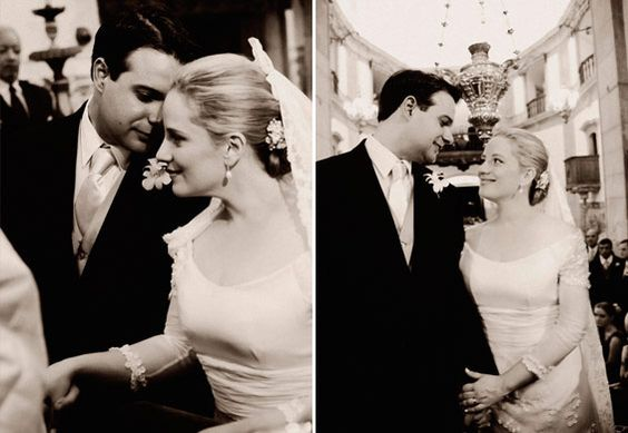 Linda foto do casal.