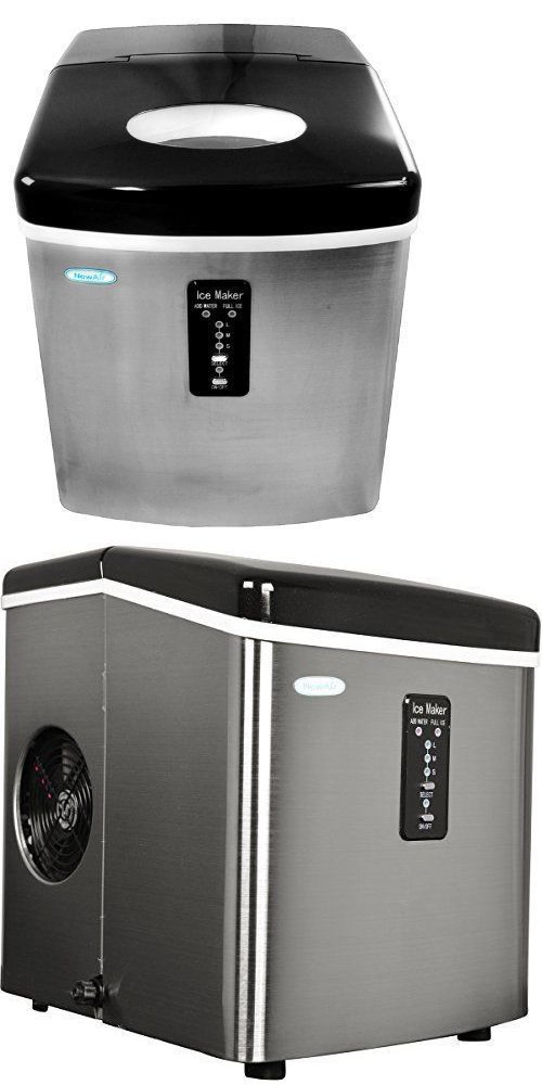 Countertop Ice Makers 122929 Ice Maker Machine Compact Countertop Portable Sonic Cube Nugget Dispenser 28lb 6 Ice Maker Portable Ice Maker Ice Maker Machine