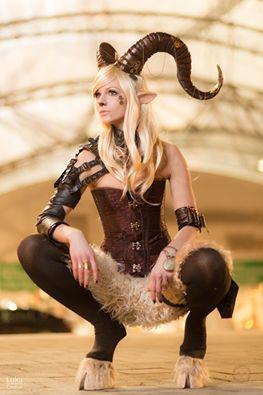Nice Faun (Steampunkfaun) Cosplay at Leipziger Buchmesse 2015, Photo by RAWR-Shootings