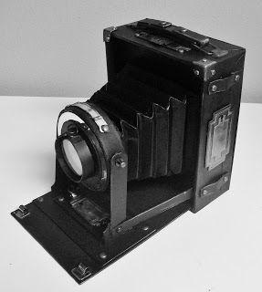 Vintage Camera with Mini Album