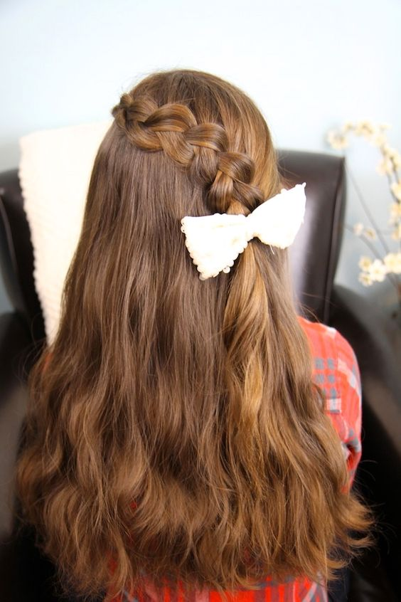 Pancake Lace Braid | Easy Hairstyles