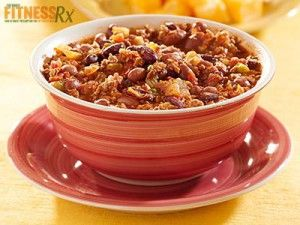 Extra Lean Turkey Chili: High-fiber and Low-fat Hearty Meal