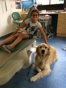 """Meet Lee, Dr. Kornstein's """"Golden"""" Assistant!"""