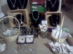 Setting up for craft fair http://www.flowerpeckerjewellery.com/blog/craft-fair/