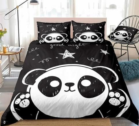 Cute Panda Bedding Set In 2020 Bedding Set Kids Bedding Sets Bed