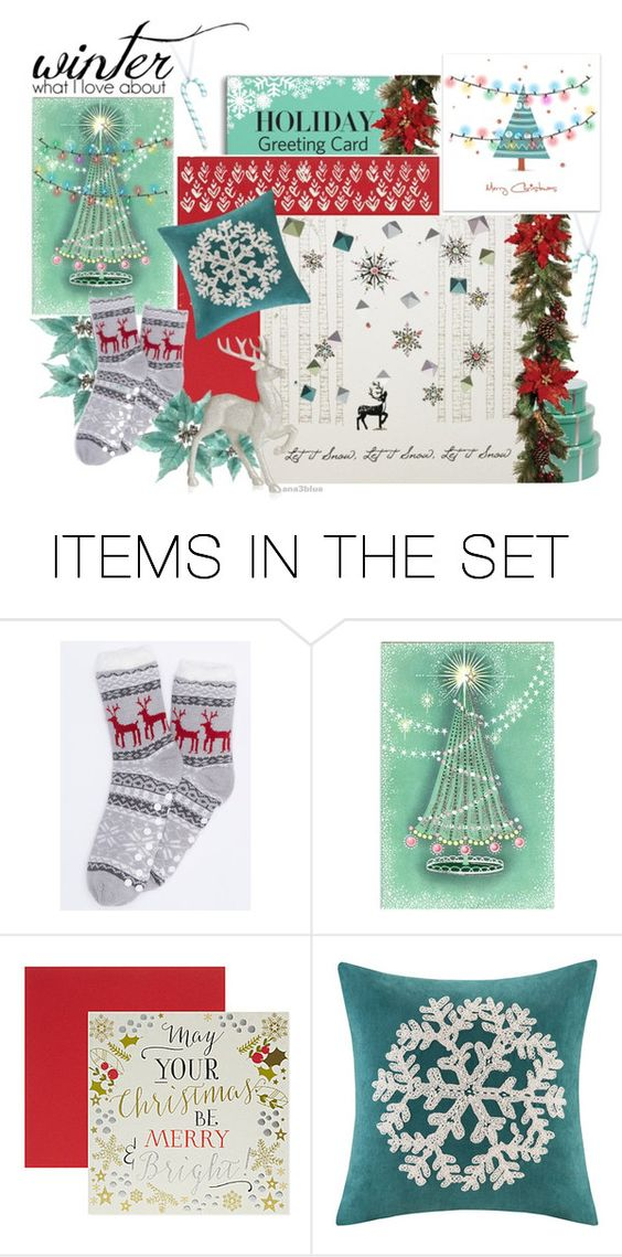 """Holiday Card"" by ana3blue ❤ liked on Polyvore featuring art and holidaycard"
