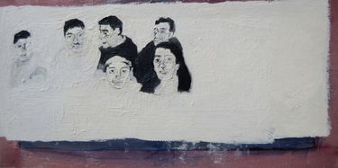 "Saatchi Art Artist Myriam Dib; Painting, ""The family of my father's side"" #art"