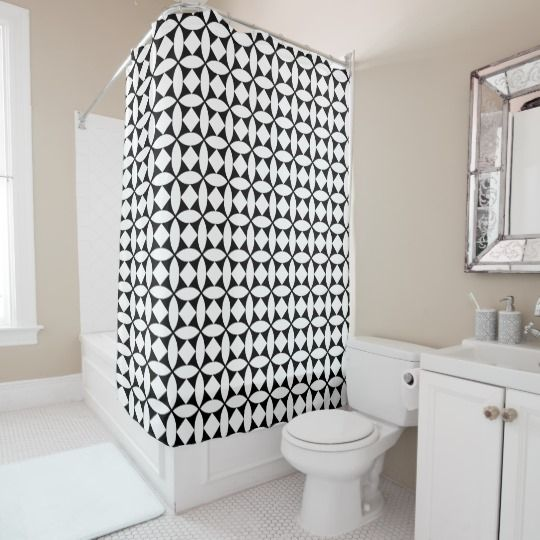 Authentic Art Deco 1920 S Style Shower Curtain Zazzle Com