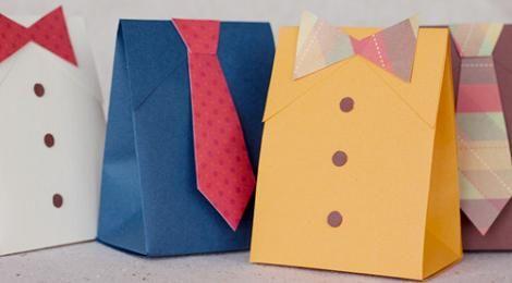 Manualidades para el Día del Padre: bolsas