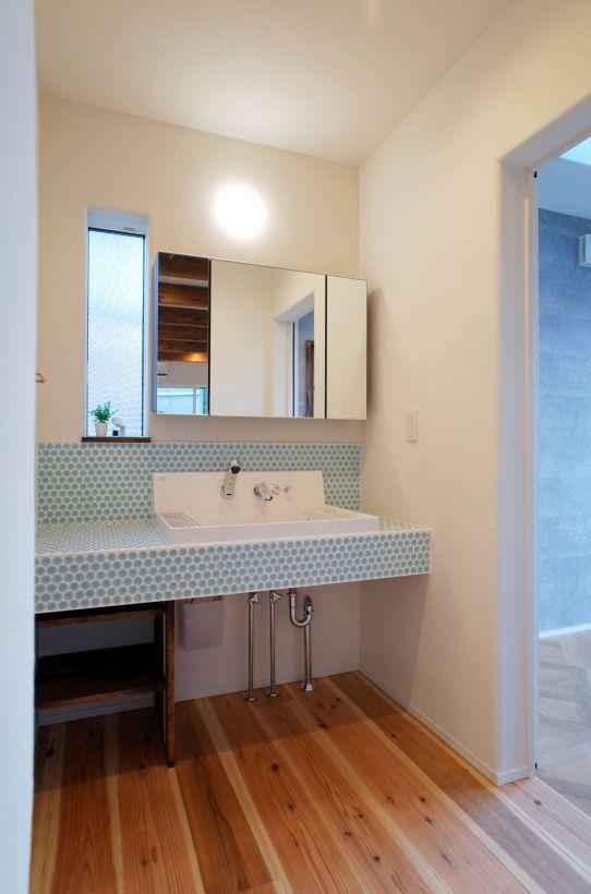 さわやかなタイルを張れば 明るい空間に Houseリサーチ 新築住宅情報