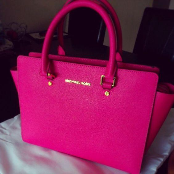3ecf7ac00099 michael kors wallets for women hot pink and black michael kors purse ...