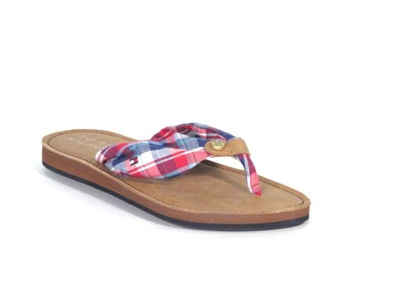 Tommy Hilfiger Monica 6 Red check £40. Available to buy online from