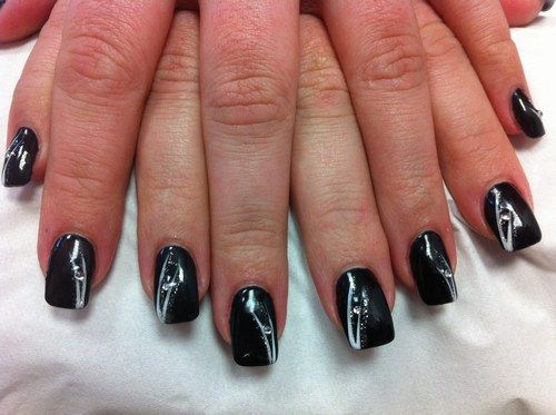 nail art ongles and art on pinterest. Black Bedroom Furniture Sets. Home Design Ideas