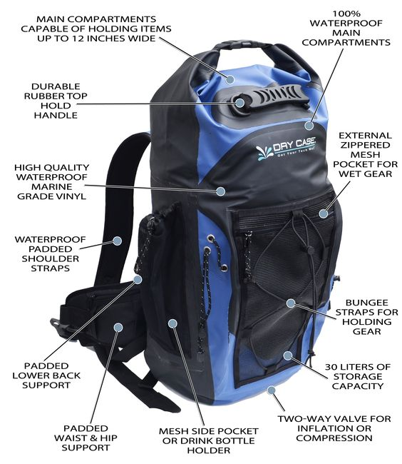 Check out this awesome new 100% waterproof adventure backpack from ...