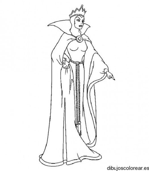 Pin En Snow White Coloring Pages