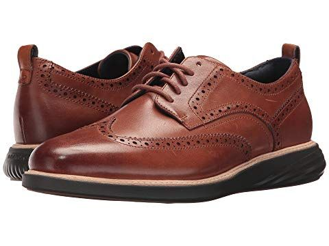Cole Haan Men/'s Grandevolution Shortwing Suede Oxford Comfort Shoes