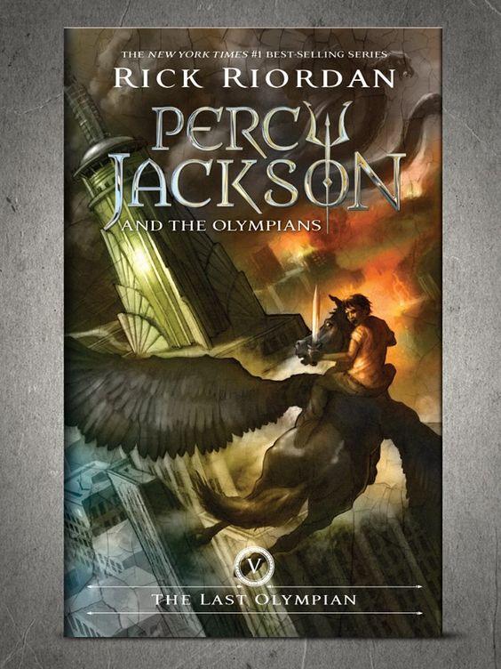 New Percy Jackson The Last Olympian Cover