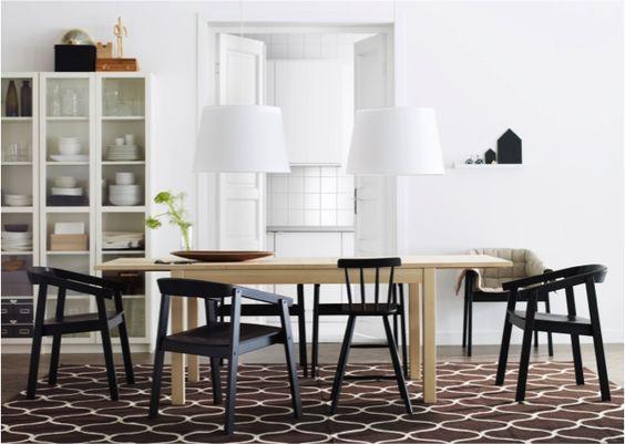 Stockholm chaises salles manger et tapis - Tapis salle a manger ikea ...