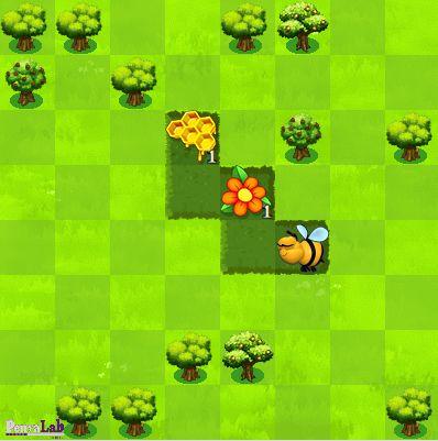 Joc online: L'abella fa mel programant seqüències