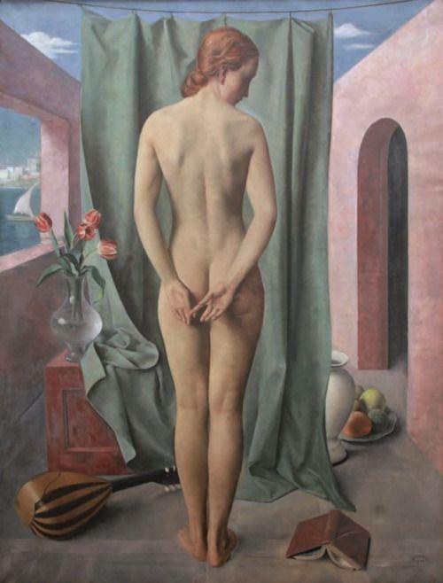 belgianpaintings: Louis Buisseret - Allégorie, 1934 | Art Deco | Bloglovin'