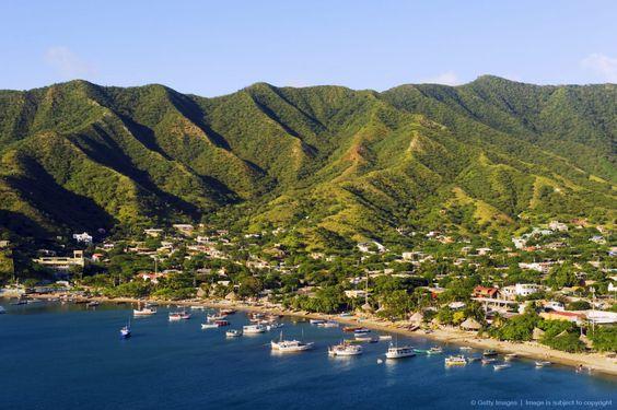 Taganga, Santa Marta,Caribean Coast, Colombia, South America