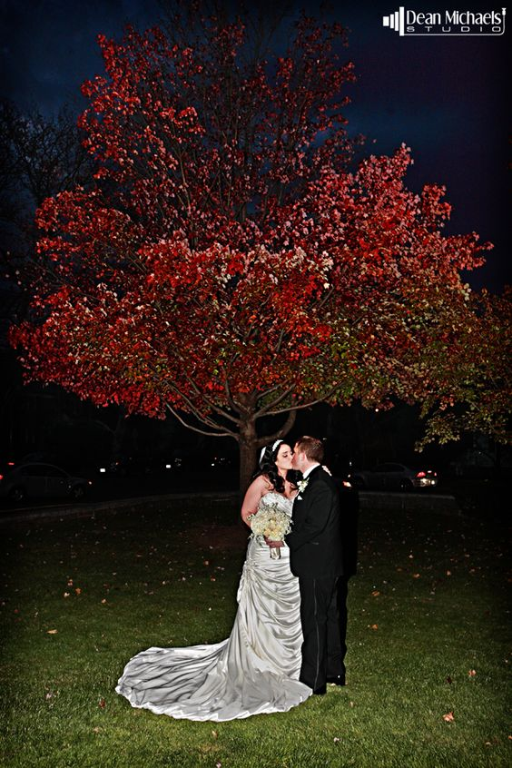 Melissa & Tom's November 2013 #wedding at St. Francis of Assisi Cathedral and IL Villaggio! (photo by deanmichaelstudio.com) #njwedding #njweddings #bride #groom #love #fall #photography #deanmichaelstudio