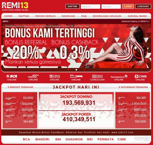 Pin Di Info Bola Poker Domino