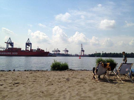 @ Hamburg  #elbe #elbstrand #strandperle