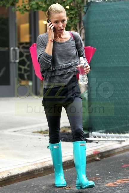 bright colored rainboots seem gamine friendly to me if narrow and ...