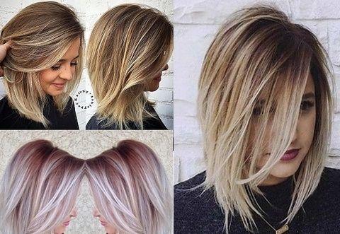 Fryzury Dla Cienkich Włosów Do Ramion Wlosy W 2019 Włosy