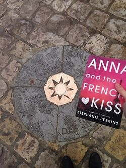 Making wishes at Point Zero. Anna and The French Kiss by Stephanie Perkins: