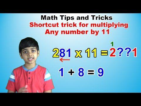 Math Videos Youtube Math Tricks Math Simple Math