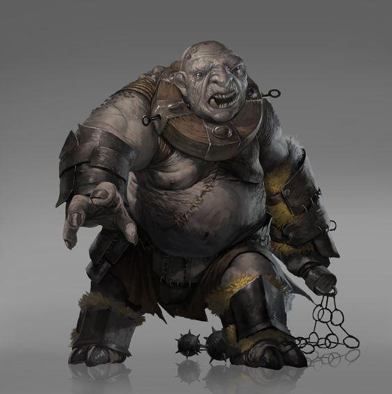 ArtStation - Stone Troll, Josh Corpuz