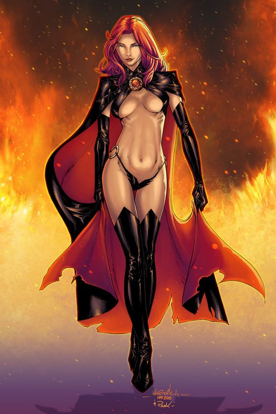 Sexy Nude Female Marvel Comix Porn 27