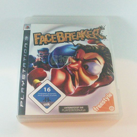 #Facebreaker #Playstation 3 ( #PS3 ) KOMPLETT mit Anleitung