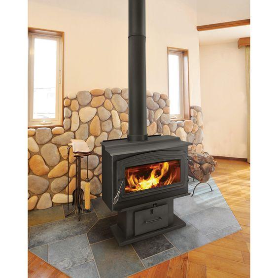 Woodpro Wood Stove 90 000 Btu Epa Certified Model Ws Ts 2000 Stove Shops And Tools