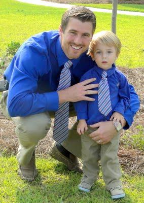 Father - Son matching ties get outfits that match and take a pic!: