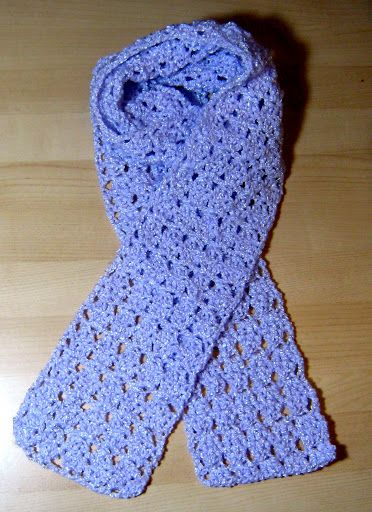 Crochet Scarf Patterns One Skein : Simple one skein crochet scarf Crochet One Skein ...