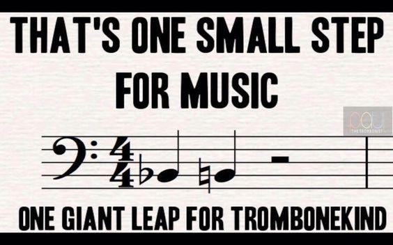Trombone humor                                                                                                                                                     More