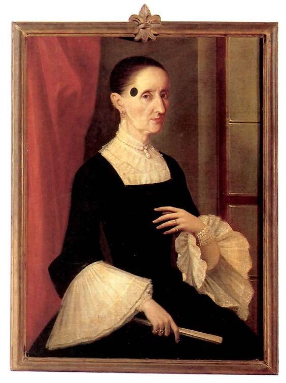 Anónimo novohispano, Retrato de dama enlutada no identificada, óleo sobre tela, 83 x 61 cm., ca. 1770-90, colección particular (Concepción Obregón Zaldívar de Valdez), catalogación: Juan Carlos Cancino.: