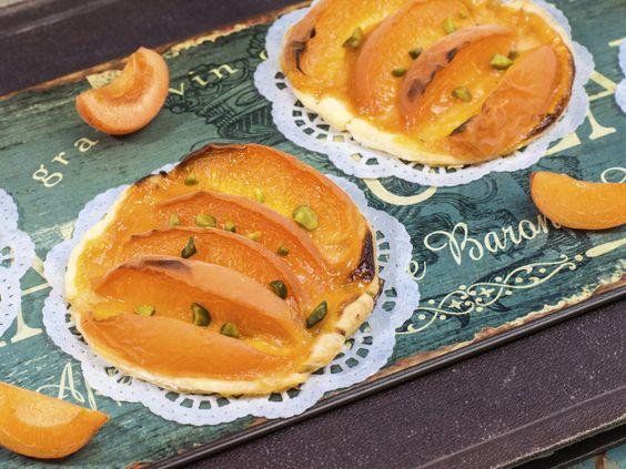 Aprikosen-Tarteletts