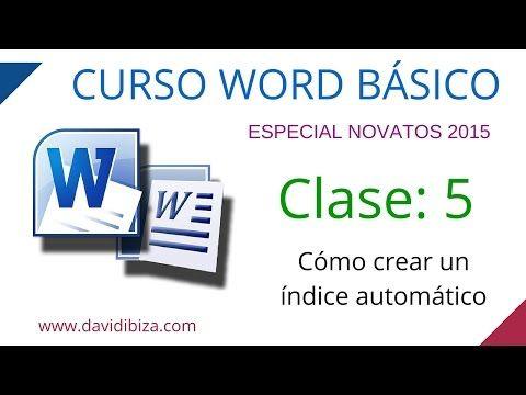Curso De Word Desde 0 Clase 4 Diseño De Página Youtube Cursillo Informatica Y Computacion Clase De Informática