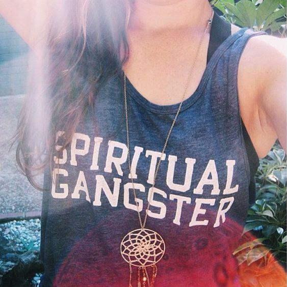 Dream catchers and Spiritual Gangster